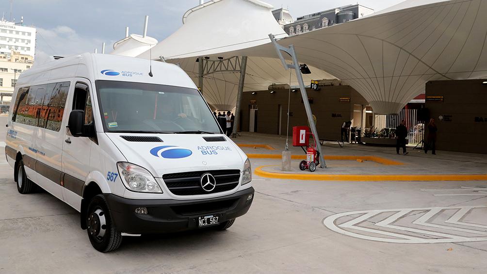 Vuelven a funcionar las combis y minibuses con una ocupación máxima del 60 por ciento