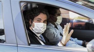 Cafiero cuestionó las protestas anti-cuarentena y dijo que hay que ser más cuidadosos