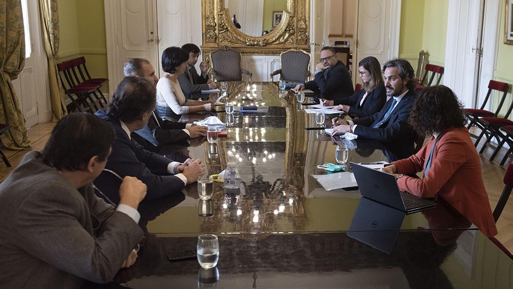 El gabinete económico se reúne y analizará la agenda postcuarentena