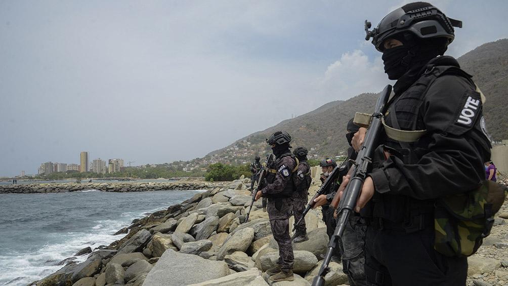 El 3 de mayo de 2020 el gobierno de Venezuela informó que militares y policiales habían frustrado una incursión marítima