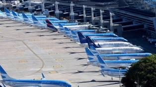 Comenzaron reuniones por la suspensión de empleados de Aerolíneas Argentinas