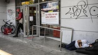 Sin refugio contra el virus: la vulnerabilidad de los que viven en las calles porteñas