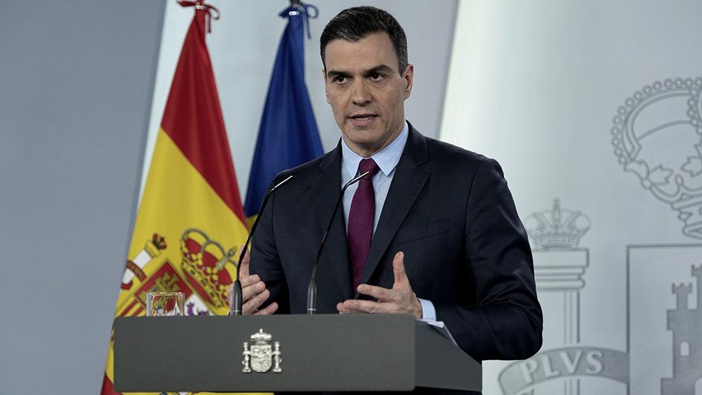 """Pedro Sánchez asegura que se está """"en el principio del fin de la pandemia"""""""