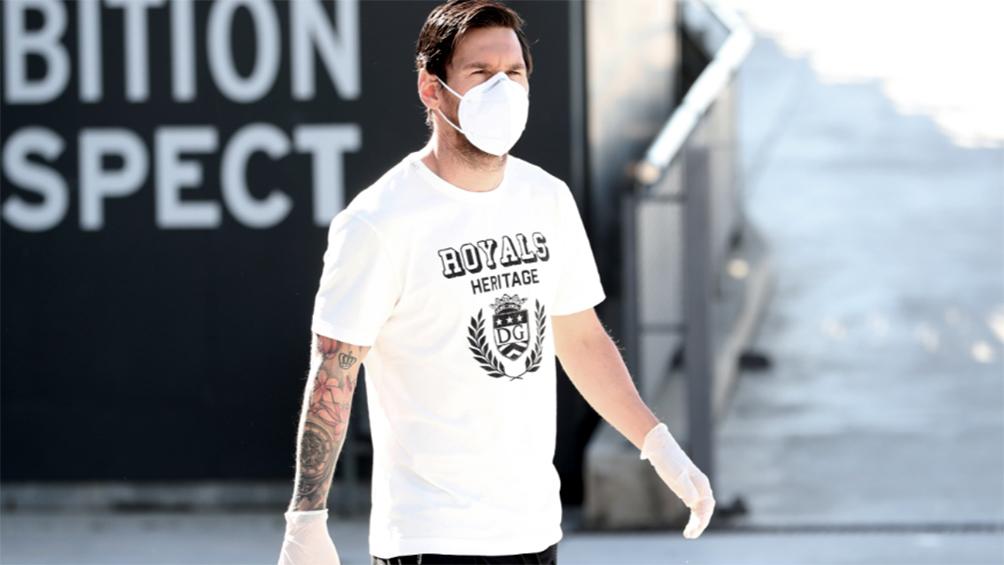 Messi tuvo día libre y su estado físico no preocupa