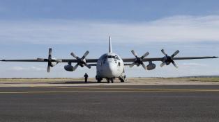 FAdeA entregó a la Fuerza Aérea un Hércules modernizado para los operativos de la pandemia