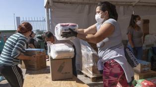 Campaña solidaria entregó más de 800 toneladas de alimentos a organizaciones sociales