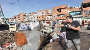 Ya son 365 los casos positivos en barrios vulnerables de la ciudad de Buenos Aires