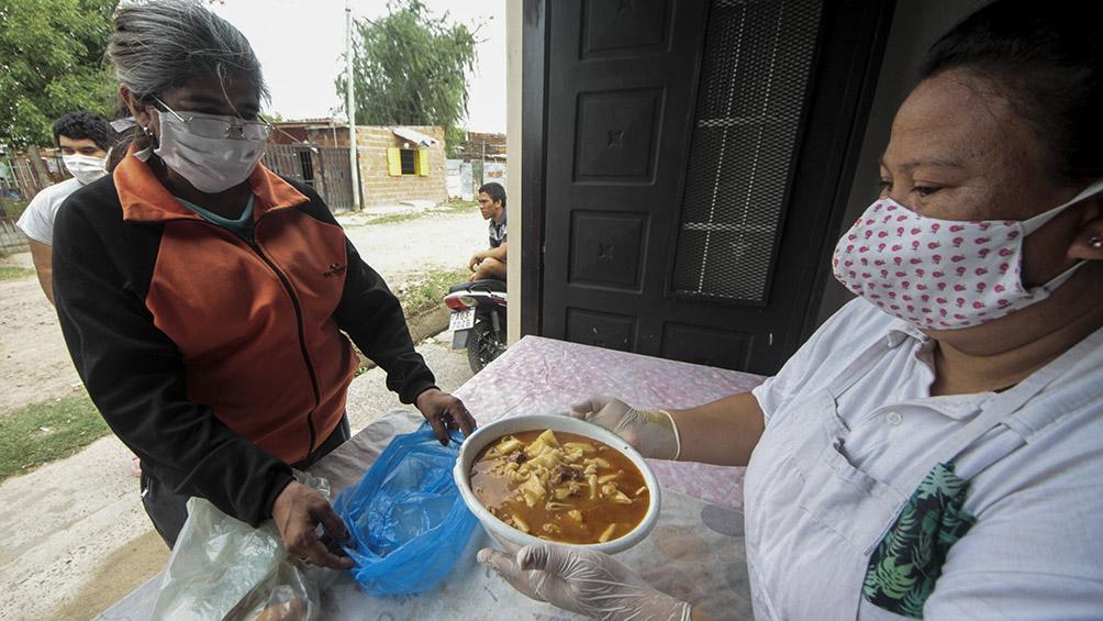 Solidaridad ante la cuarentena: las ollas populares en los barrios