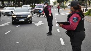 La mortalidad vial cayó un 56% en abril y la Ciudad de Buenos Aires lleva 61 días sin un peatón como víctima fatal