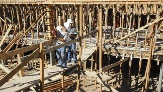 En el primer semestre la construcción acumuló un retroceso del 37,8%.