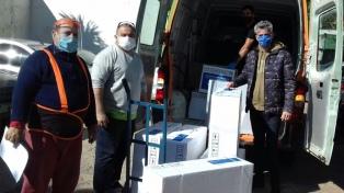 Entregan 240 nuevas camas de terapia intensiva a 15 hospitales del conurbano