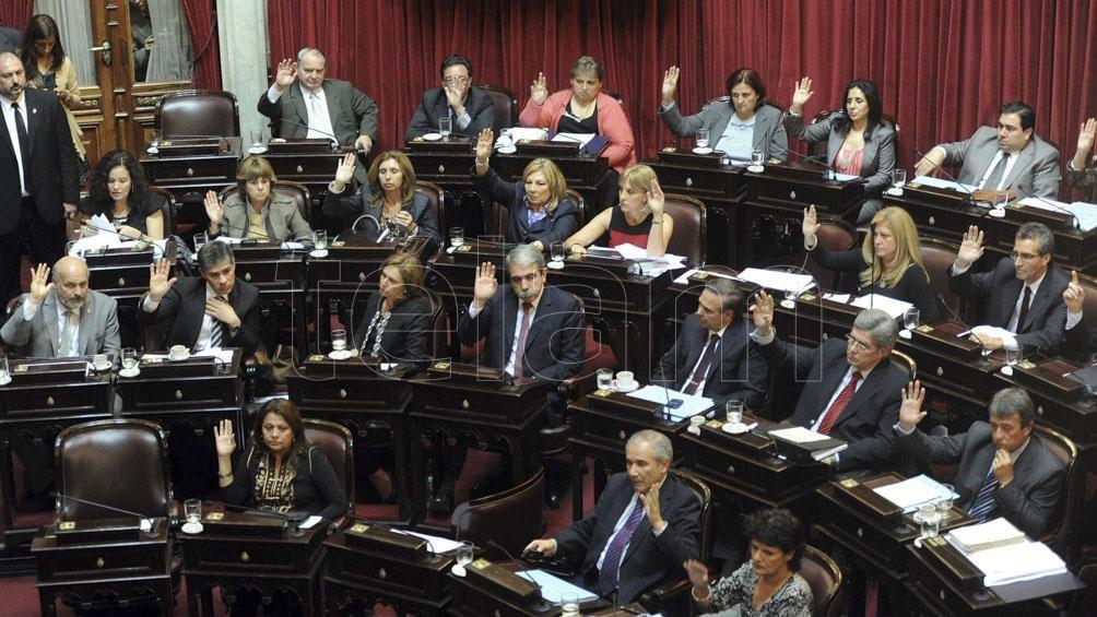 El Senado aprobó la ley de Identidad de Género por unanimidad. Foto: Fernando Sturla (Télam)