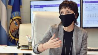 Mayra Mendoza dio positivo en coronavirus y se encuentra en aislamiento