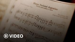 """Alberto Fernández: """"Nuestro Himno nos une"""""""