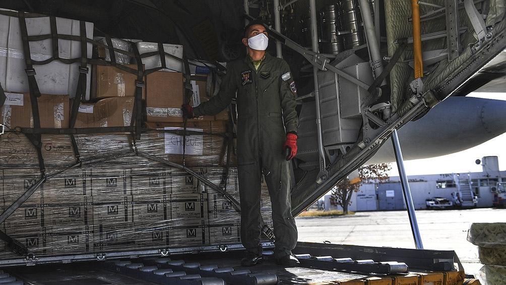 """""""Estos equipos de protección son difícil de encontrarlos disponibles en el mercado para poder comprarlos"""", dijo la ministra de Salud de Tierra del Fuego, Judith Di Giglio. Foto: Ramiro Gómez (Télam)"""