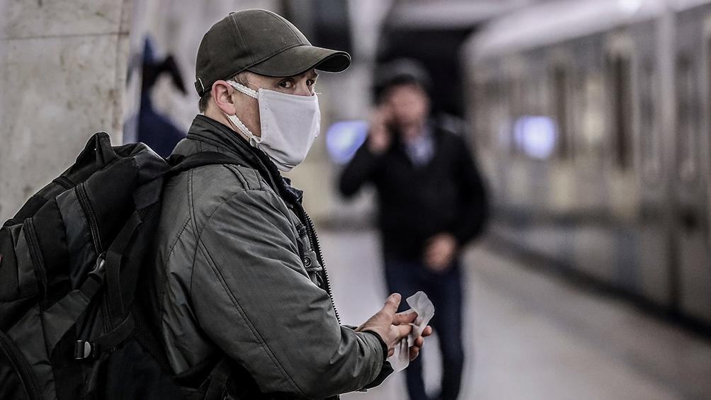Rusia: menos de 10.000 nuevos casos de coronavirus por primera vez en 12 días