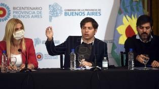 Kicillof y Magario expresaron sus condolencias por la muerte de Menem