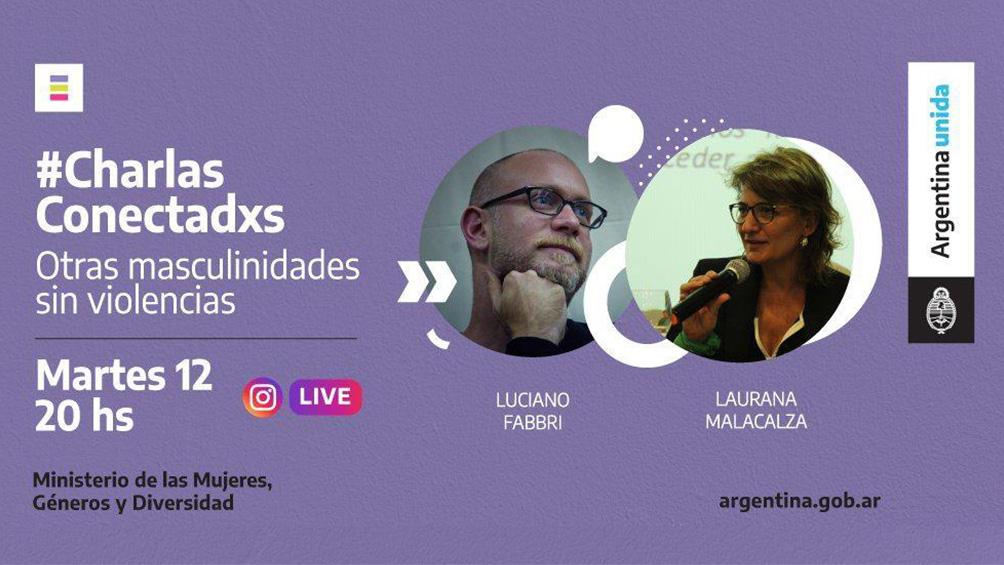 El Ministerio de las Mujeres, Género y Diversidad lanza un ciclo de charlas en vivo