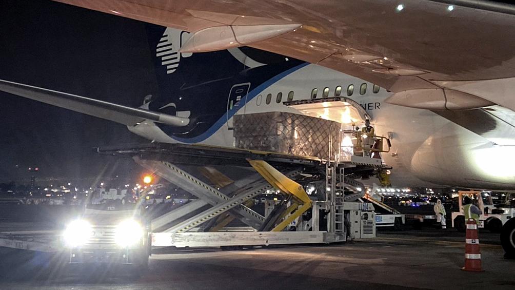 Llegó el octavo avión de China con insumos destinados a Buenos Aires por el coronavirus