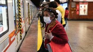 Aumentó el uso del transporte público en Santiago incluso antes de salir de la cuarentena