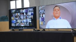 Las legislaturas provinciales siguen trabajando en forma virtual o con reuniones para pocos