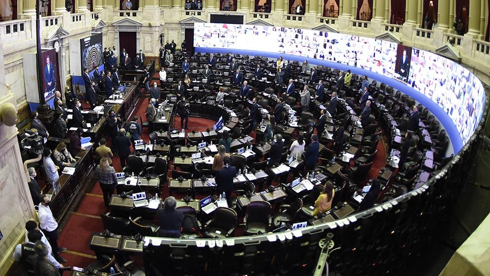 Diputados realiza la primera sesión virtual de su historia - Télam -  Agencia Nacional de Noticias
