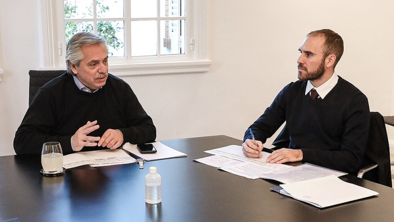 """Alberto Fernández encabezó una """"reunión de trabajo"""" con ministros - Télam - Agencia Nacional de Noticias"""