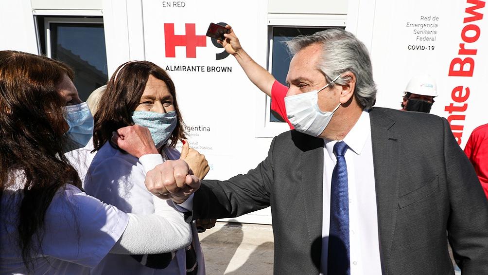 """Alberto Fernández dijo que el Gobierno """"no está en condiciones de favorecer aumentos"""" en la medicina prepaga"""