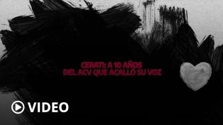 Se cumplen 10 años del ACV que acalló la voz de Gustavo Cerati