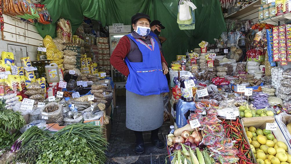 El Mercado Andino de Liniers abrió bajo estrictas medidas de prevención