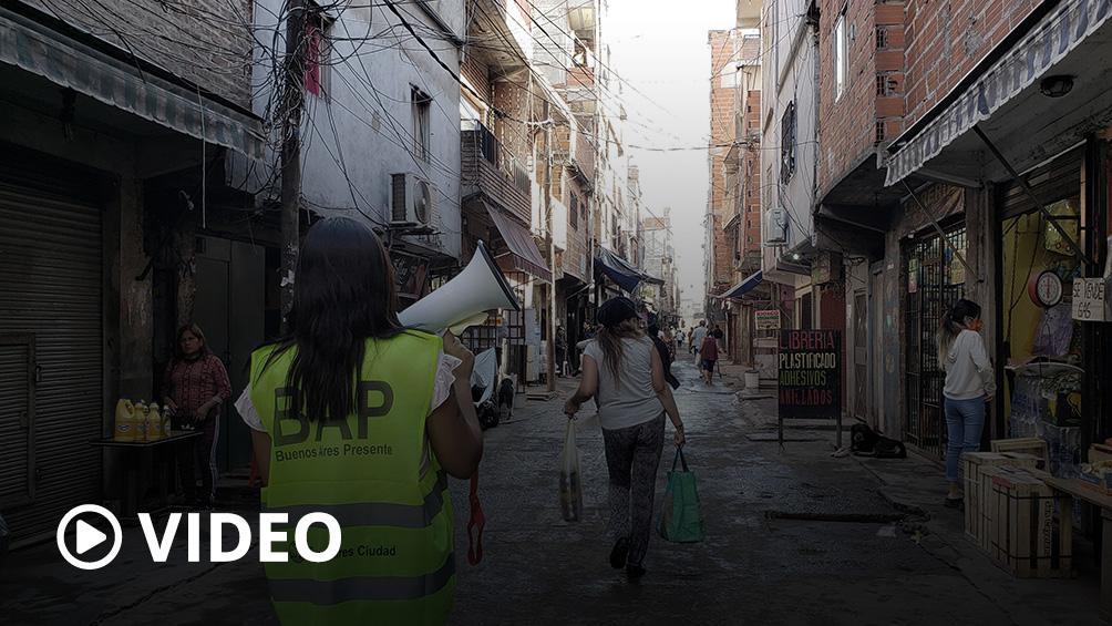 Con 87 nuevos casos, suben a 1410 los infectados en los barrios vulnerables porteños
