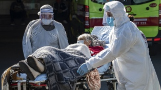 Chile reportó 49 muertes por coronavirus, la mayor cifra diaria