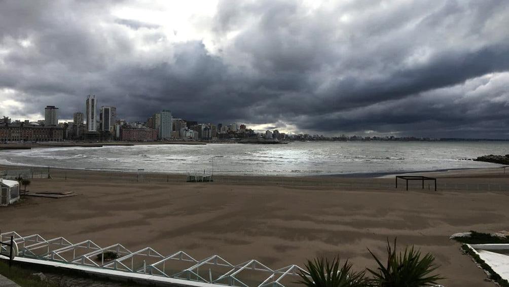 Rige un alerta meteorológico para Mar del Plata y el sur y centro de Buenos Aires