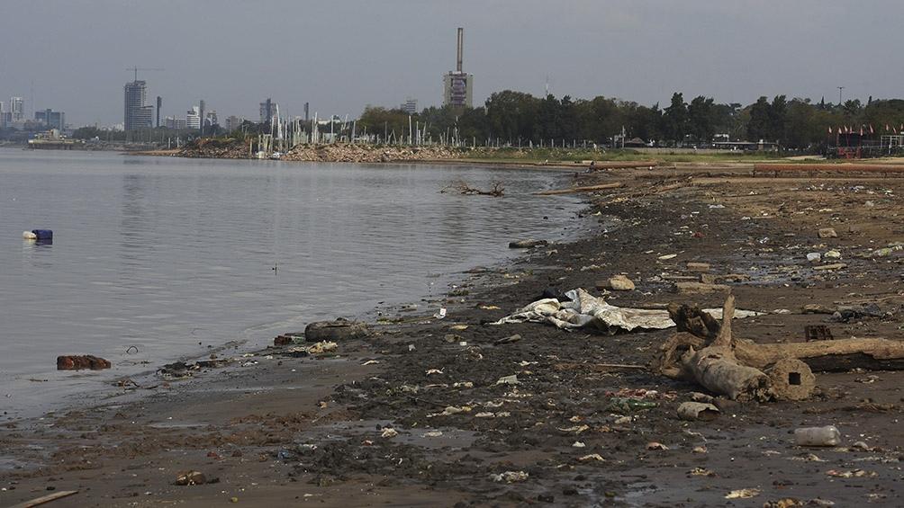 El río Paraná continúa desde febrero con niveles cerca de la altura de menor caudal, que fue de 0 metros detectados en 1970.