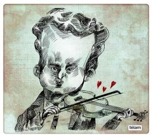 """Se cumplen 55 años sin """"el violín romántico del tango"""" de Alfredo Gobbi"""