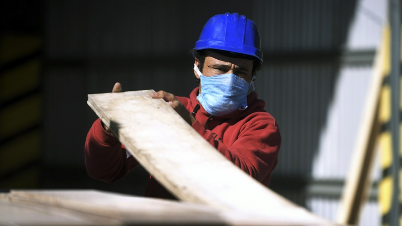 La utilización de la capacidad instalada de la industria fue del 63,5% en abril