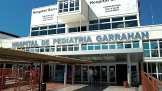 """M. pasó la noche """"bien"""" en el Hospital de Pediatría Garrahan."""