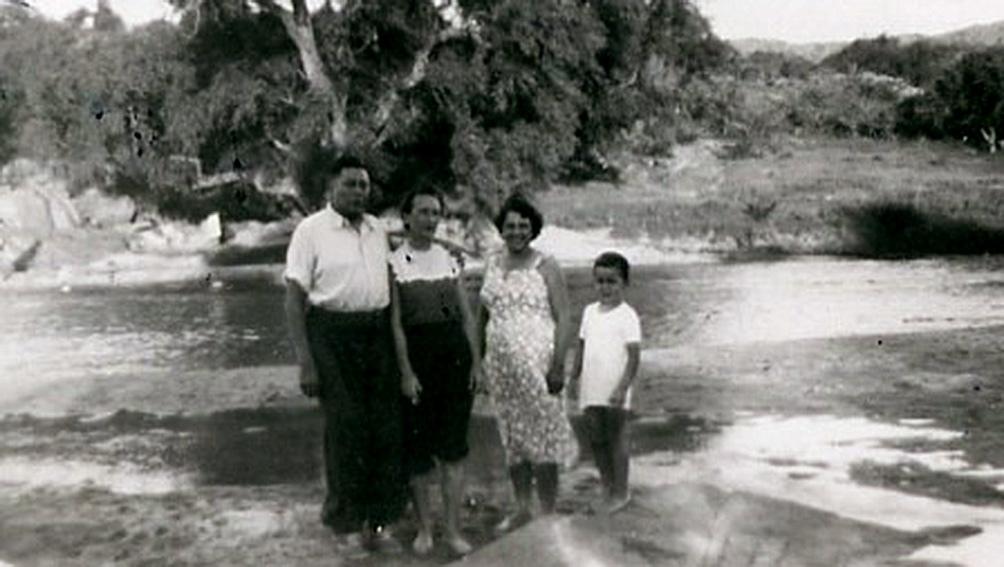 En Cerro Colorado, junto al río Los Tártagos