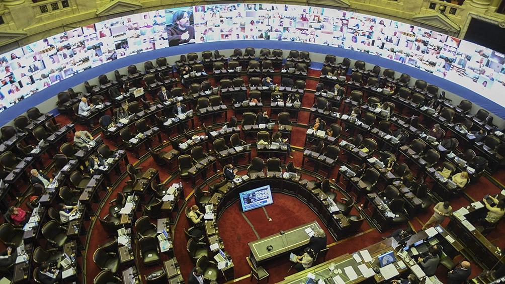 Juntos por el Cambio no logró quórum y sesionó en minoría en rechazo de ampliación presupuestaria