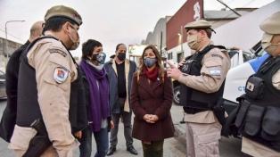Frederic y Mendoza coordinaron acciones de seguridad en Quilmes