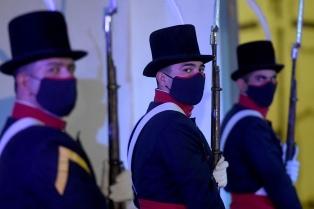 Histórico cambio de guardia en el Cabildo