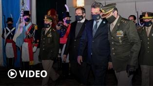 """Rossi: """"Las Fuerzas Armadas realizan el despliegue más importante desde la democracia"""""""