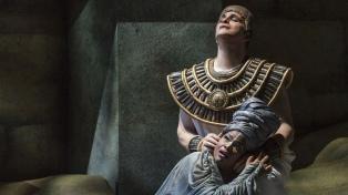 """La ópera """"Aida"""", online para festejar los aniversarios del Teatro Colón y el Teatro Vera"""
