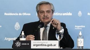 """Fernández dijo que Villa Azul es el """"ejemplo más claro de injusticia"""" y propuso """"integrar"""" Argentina"""