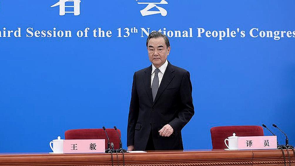 Wang llamó a EEUU a establecer un modelo de coexistencia