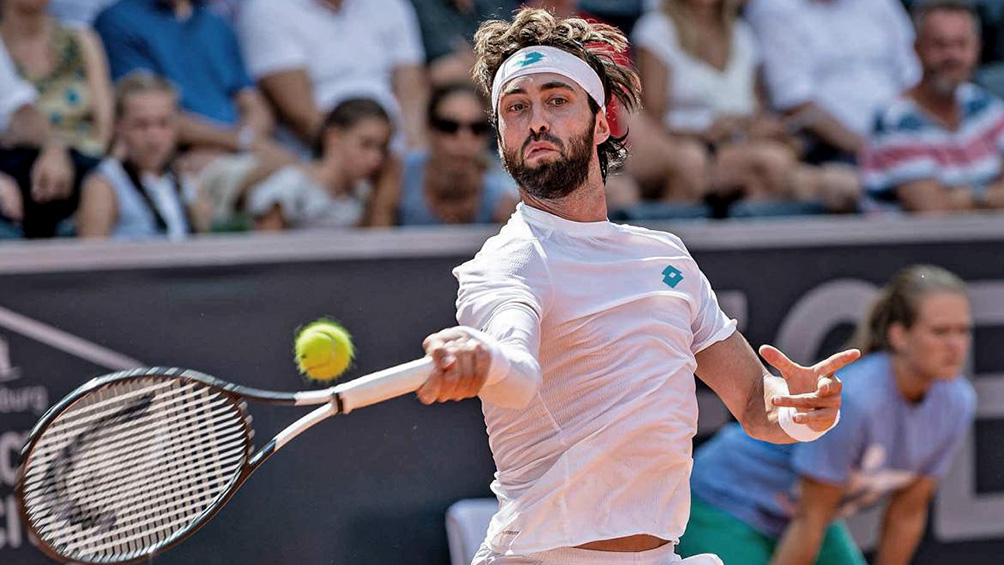 El tenista georgiano Basilashvili fue detenido por violencia de género