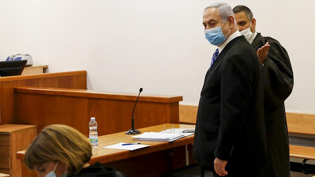 El próximo domingo Netanyahu tendrá la segunda vista del juicio en su contra