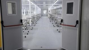 Cafiero y Kicillof recorrerán el miércoles el hospital modular de Lomas de Zamora