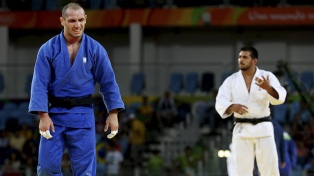 Judoca argentino Lucenti quedó varado en Georgia con su familia