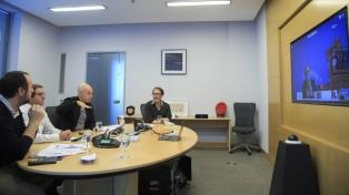Rodríguez Larreta dialogó con alcaldes europeos y de Estados Unidos sobre la pandemia